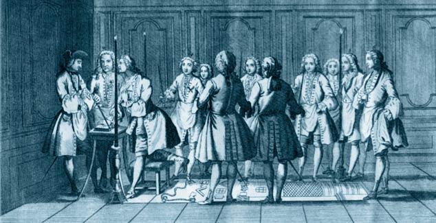 Resultado de imagen para Masones aceptados 1717
